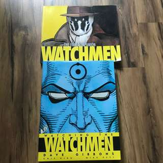 Watchmen artbook and film companion