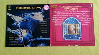 PERFORMERS OF 1973 ● THE WORLD OF MUSIC FROM 1970 - 1973 (Rare)  ( buy 1 get 1 free )  vinyl record