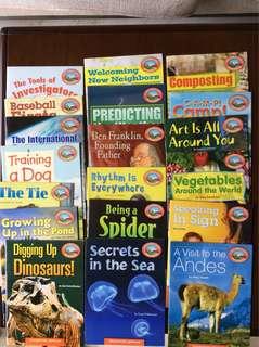 Vocabulary Readers books