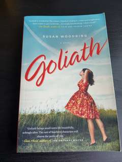 3 for price of 2: Goliath by Susan Woodring