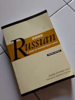 Using Russian by Derek offord & Natalia Gogolitsyna (second edition)