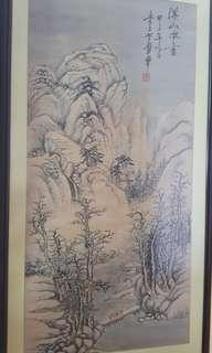Chinese Painting 李玉 99 x 48cm