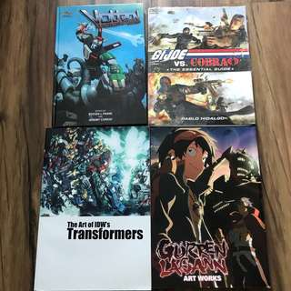 Animated series artbooks