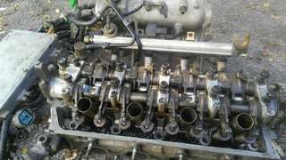 Head p2j-5 d16y8 sohc vtec complete & aircond compressor is