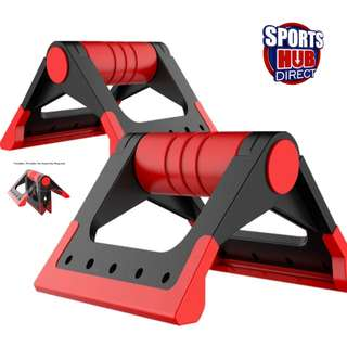 Foldable Push-up Bar Handle Up to 300kg load Gym Fitness Crossfit #MAF40