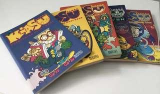 Mr Kiasu Comic Books