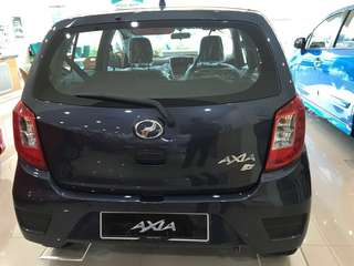 Perodua Axia 1.0 G Promosi Perodua 0% GST