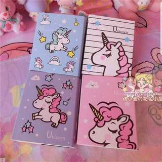 Unicorn Memo Pad