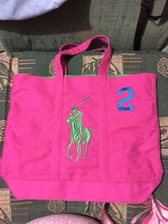 AUTHENTIC RL TOTE BAG