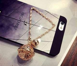 Bag charm Keychain bracelet palace bell