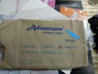 Adventurer jacket (notebook and folder)
