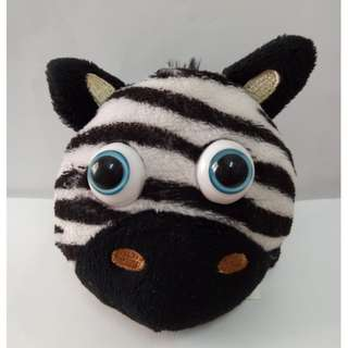Cute Zebra Head Toys