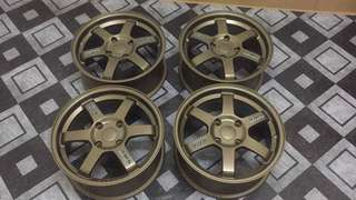 [NEW]Rim TE37 Copy Ori 100% Cutting original