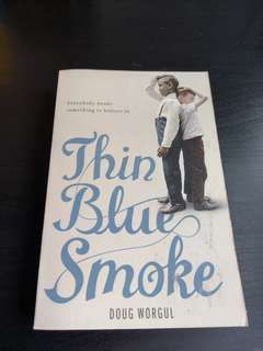3 for price of 2: Thin Blue Smoke by Doug Worgul