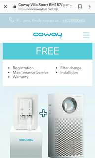 COWAY COMBO DEALS at RM187