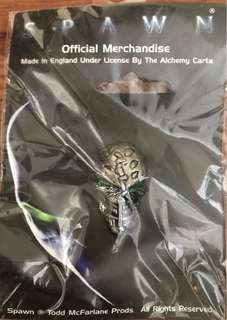 Rare Spawn Zombie Head Pin (1997) - For Collectors Only
