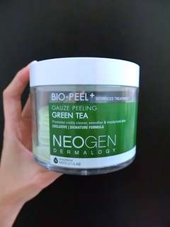 NEOGEN BIO PEEL GAUZE PEELING PAD GREEN TEA PRELOVED