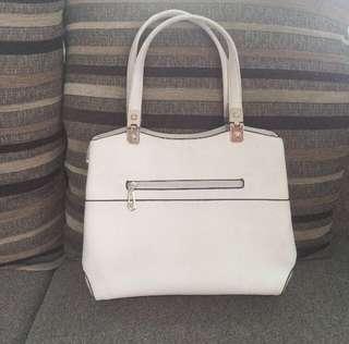 Hana Handbag White