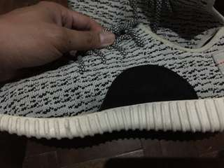 Adidas yeezy boost(slightly used)