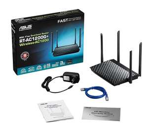 NEW! ASUS Dual-Band Router RT-AC1200G+