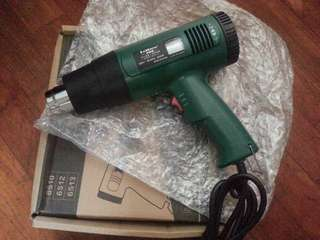 Brand new Heat gun hot air blower heatgun w digital control and display to prevent unnecessary damage to products goods being shrink wrap