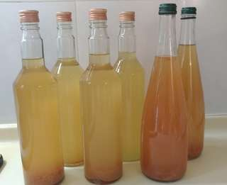 🚚 HOME MADE APPLE CIDER VINEGAR with A MOTHER