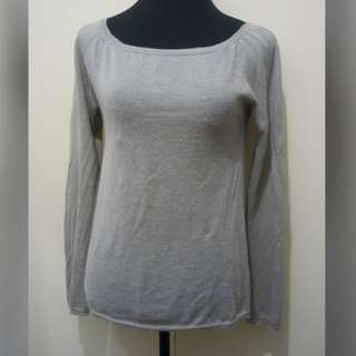 WA721 MNG Light Knitted Blouse / Sweatshirt (see pics for Measurements) 6/10