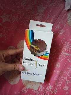 Colourful Rainbow Brush