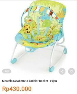 Mastela Newborn to Toddler Rocker