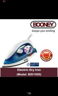 Free door delivery! Booney Electric Dry Iron