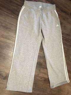 Size12 grey women's adidas track pants for sale