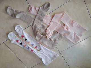 Full sock legging for girl 1-2 years