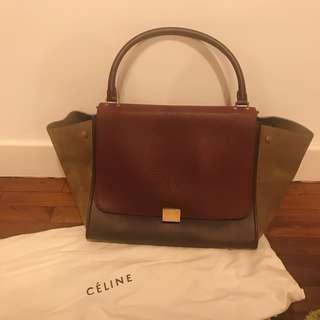 Celine Trapeze Bag 可上膊 ,無長帶