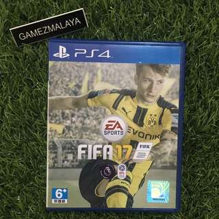 [USED] PS4 FIFA 17 - (GAMEZMALAYA)