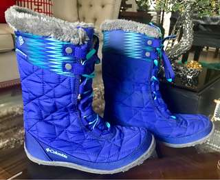 Columbia waterproof winter boots size34 EUR