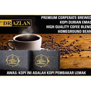 Slimming Coffee Burn Fats Remove Cellulite Kopi Durian Emas