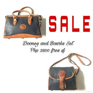 PLOVED: Authentic Dooney and Bourke Bag Set