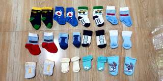Preloved infant socks - 30 each pair
