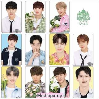 Wanna One Ivy Club Glossy Photocards
