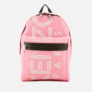 KENZO Women Pink Backpack 背囊  bag 背包