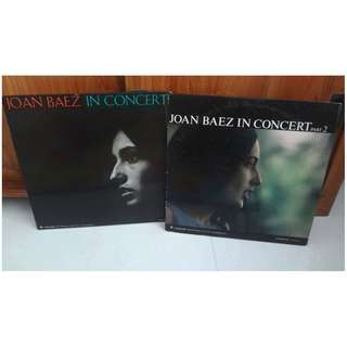 Joan Baez In Concert Part 1 & 2 Vinyl LP Record