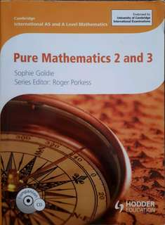 Pure Mathematics 2 & 3 (a-levels textbook)