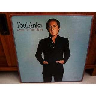 Paul Anka Vinyl LP Record Listen To Your Heart
