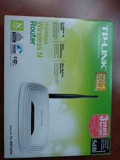TP- LINK ROUTER
