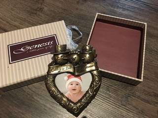 Selling Genesis Baby's first Christmas hanging ornament for sale