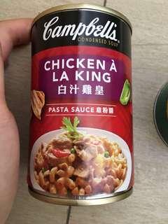 罐頭 金寶湯 campbell 白汁雞皇 意粉醬 300g