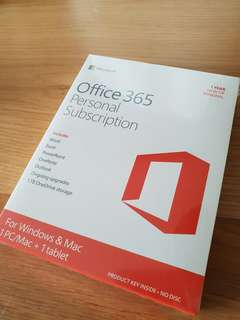 Microsoft Office 365 Personal Subscriptions