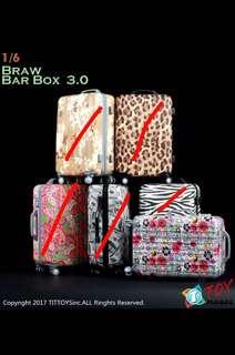 TIT Toys - 1/6 Draw Bar Box 3.0 Luggage Bag