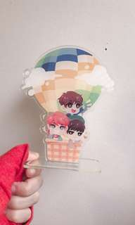Makne Line BTS Young Forever standee
