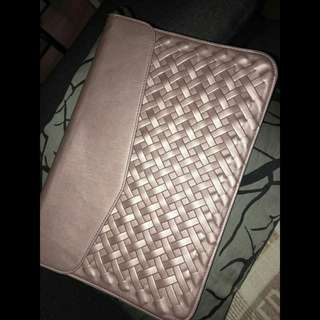 Rose Gold Weave Laptop Sleeve